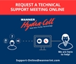 Technical Support - Online Video Meetings